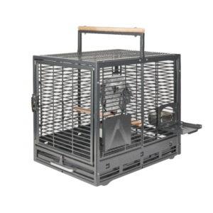 safari bird travel cage